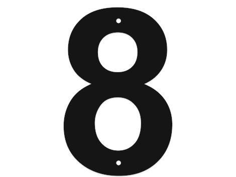 Buchstaben und Ziffern - 18 cm