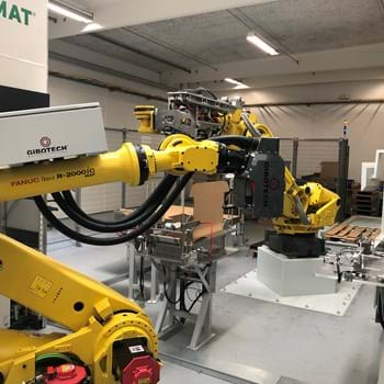 Robot arms are making room for more hands