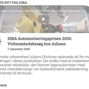 Automatiseringsprisen 2020