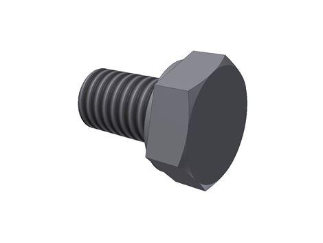 #995 / #994 M6X10mm. Bolt - fundament