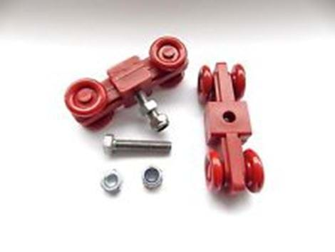 DOOR MAINTENANCE KIT RED WHEELS